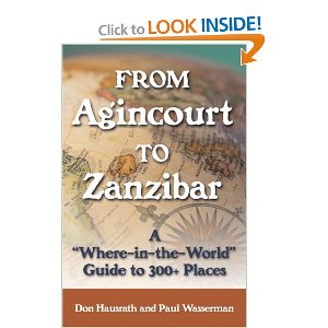 Agincourt to Zanzibar